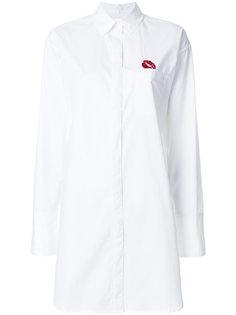 рубашка с логотипом  Lala Berlin