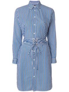 платье-рубашка с поясом  Polo Ralph Lauren