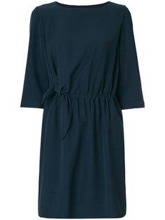 платье с завязками на талии Emporio Armani
