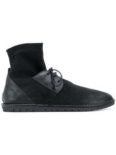 туфли со шнуровкой и носком Marsèll