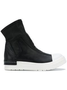 кроссовки с контрастным носком Cinzia Araia