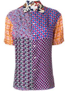 рубашка на пуговицах с принтом  Pierre-Louis Mascia