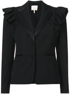 пиджак с контрастными плечиками Rebecca Taylor
