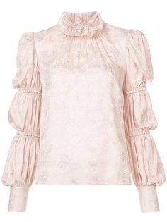 блузка с оборками Rebecca Taylor