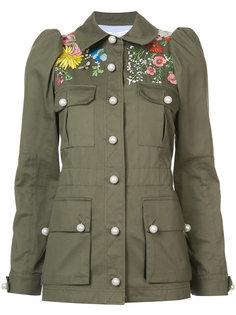 куртка в стиле милитари Veronica Beard