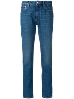 джинсы прямого кроя MSGM