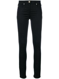 """джинсы """"скинни"""" с манжетами на молнии Versace"""