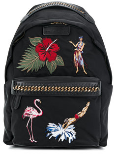рюкзак с вышивкой Falabella Stella McCartney