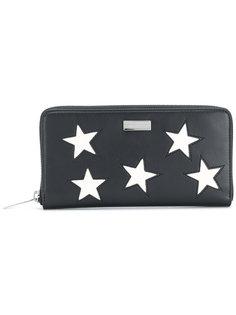 кошелек на круговой молнии со звездами Stella McCartney