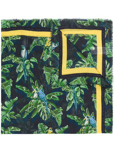 шарф с растительным принтом Stella McCartney