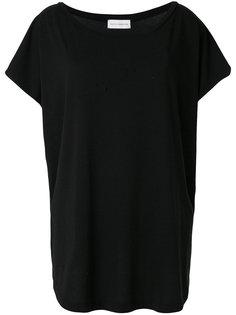 оверсайз-футболка с вырезом-лодочка  Faith Connexion
