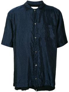 рубашка в тонкую полоску Sacai