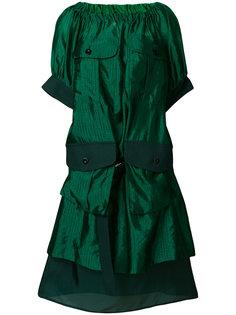 платье с накладными карманами  Sacai