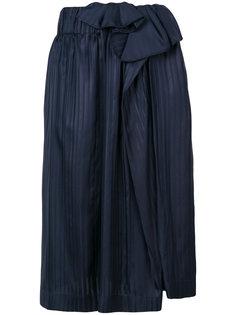 асимметричная плиссированная юбка Stella McCartney