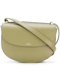 полукруглая сумка на плечо A.P.C.