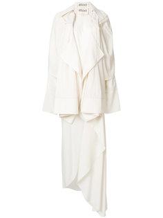 асимметричное платье с драпировкой  A.W.A.K.E. Awake