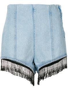 шорты с бахромой MSGM