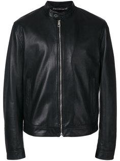 классическая кожаная куртка  Versace Collection