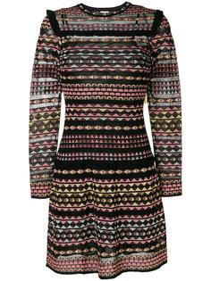 платье мини с геометрическим узором  M Missoni