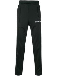 спортивные брюки с полосками по бокам Palm Angels