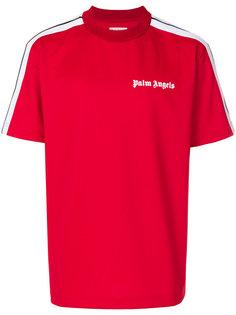 футболка с полосками по бокам Palm Angels