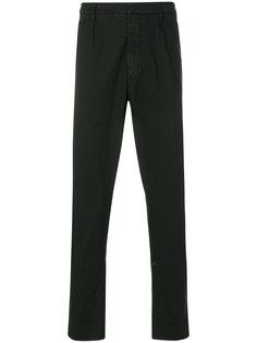 брюки с подворотами Dondup