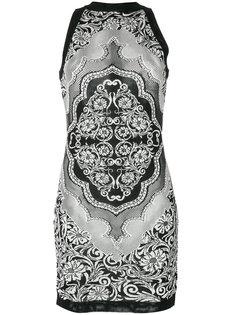 жаккардовое платье  Balmain