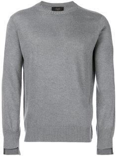 свитер с круглым вырезом Maison Flaneur