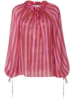 блузка в полоску  MSGM