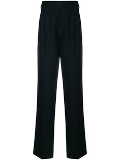 drop-crotch tailored trousers Raf Simons