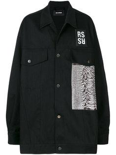 куртка с нашивками Raf Simons