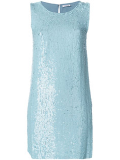 платье шифт с пайетками  P.A.R.O.S.H.