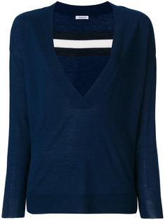 свитер с глубоким V-образным вырезом  P.A.R.O.S.H.