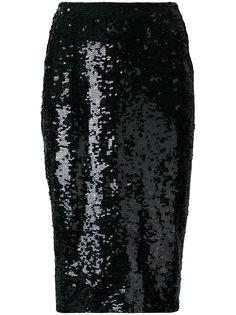 юбка с пайетками P.A.R.O.S.H.