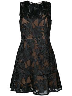 сетчатое платье с аппликацией  Michael Michael Kors
