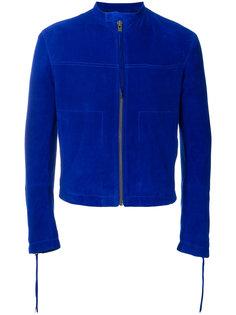 приталенная байкерская куртка  Haider Ackermann