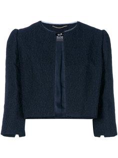 укороченный пиджак Fucino Max Mara