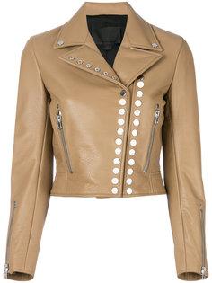 укороченная байкерская куртка  Alexander Wang