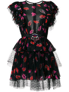 многослойное платье мини  MSGM