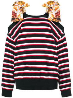 свитер с завязками на плечах MSGM