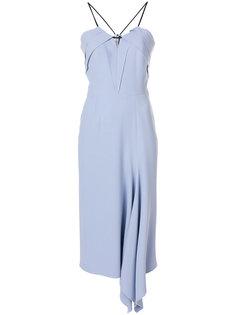 платье с оборкой Roland Mouret
