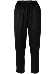 укороченные приталенные брюки  Forte Forte