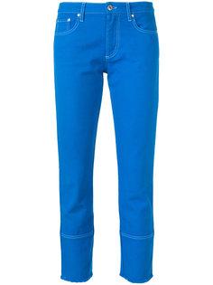 укороченные джинсы кроя слим MSGM