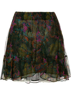 юбка с абстрактным принтом  Iro