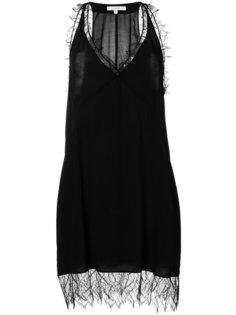 платье на бретельках с кружевными вставками  Iro