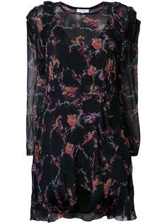 расклешенное платье с цветочным принтом  Iro