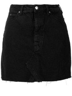короткая джинсовая юбка  Iro