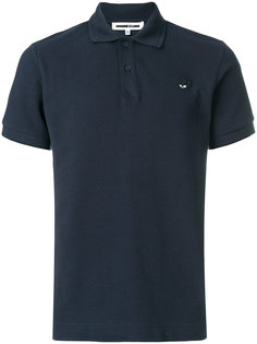 футболка-поло с заплаткой в виде ласточки McQ Alexander McQueen