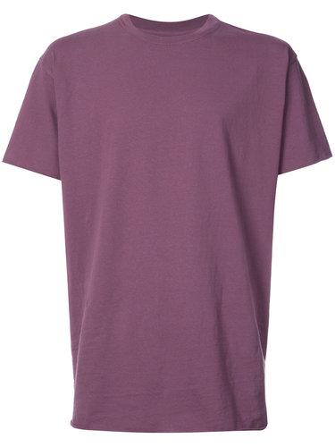футболка с круглым вырезом под горло John Elliott