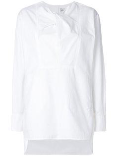блузка с перекрученной деталью Carven